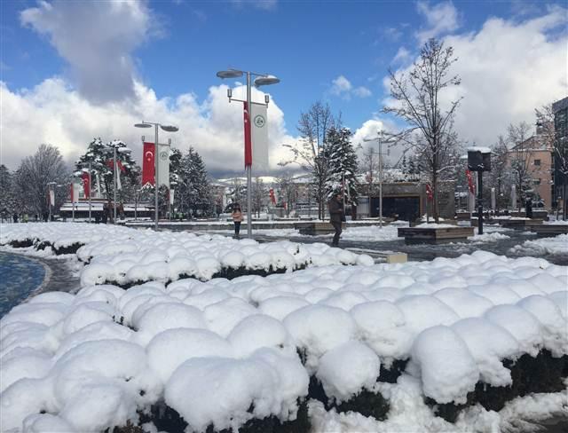 Yurttan kar manzaraları galerisi resim 21