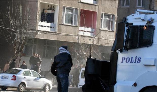 Diyarbakır savaş alanına döndü! galerisi resim 13