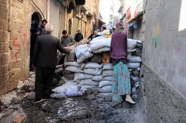 Diyarbakır savaş alanına döndü! galerisi resim 16