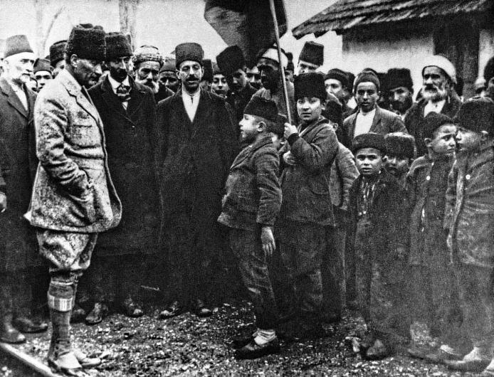 Atatürk'ün İlk Kez Ortaya Çıkan Fotoğrafları! galerisi resim 15