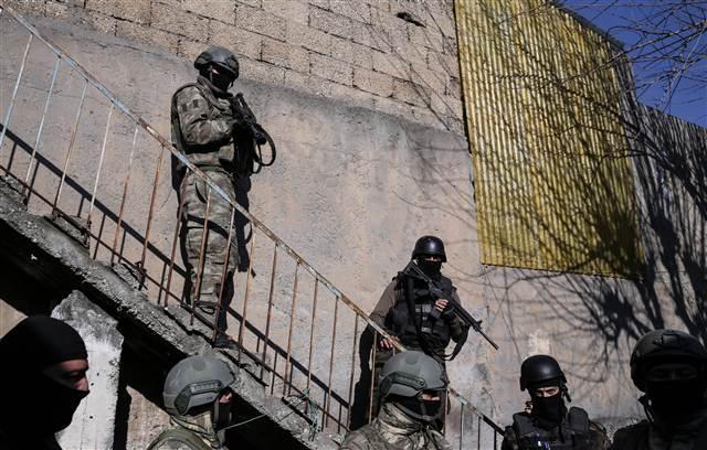 Cizre'deki operasyondan çarpıcı kareler galerisi resim 14
