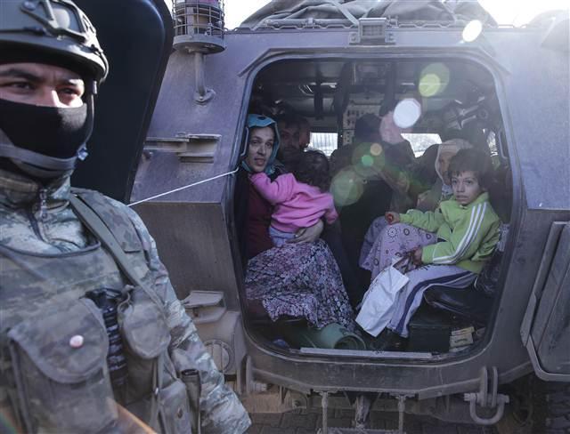 Cizre'deki operasyondan çarpıcı kareler galerisi resim 20