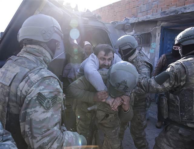 Cizre'deki operasyondan çarpıcı kareler galerisi resim 21