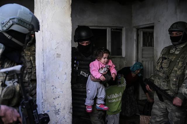 Cizre'deki operasyondan çarpıcı kareler galerisi resim 6
