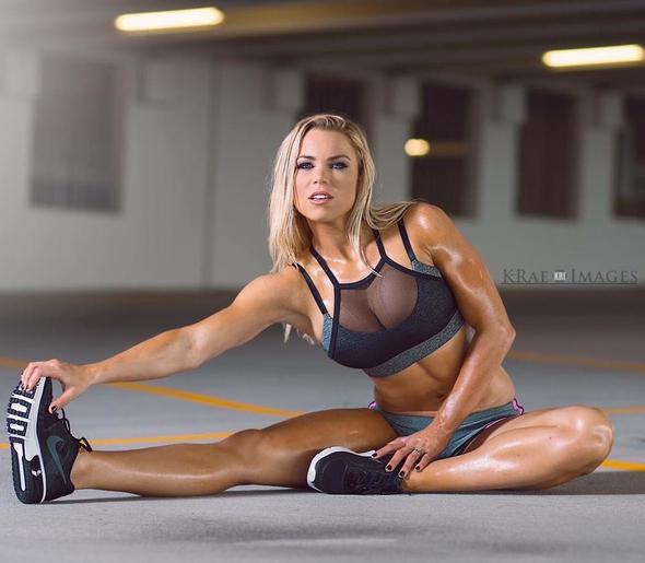 Lauren Joy Modelo Fitness Madura De Cuerpo Pornktube 1