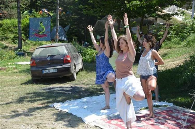 Uludağ'da hippi festivali galerisi resim 6