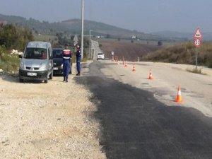 Jandarma ekiplerindn huzur uygulaması