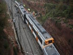 Tren raydan çıktı!