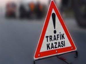 Bursa'daki kaza kaldırıma taştı!