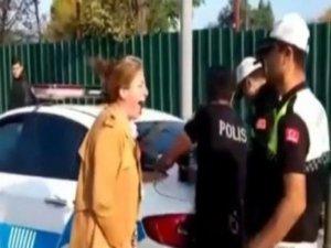 Kadının çığlıkları polisi isyan ettirdi