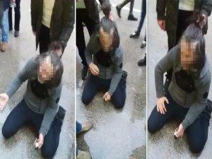 Bursa'da taciz dayağı!