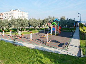Mudanya'da parkların tapusu çocukların oluyor