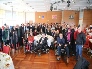 Büyükşehir'de 'engelli' buluşması