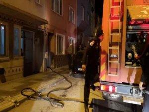 Bursa'daki yangın yürekleri ağza getirdi!