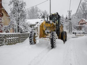 Bursa'da kar nöbeti!