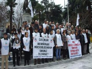 Bursa'da emekli eylemi!