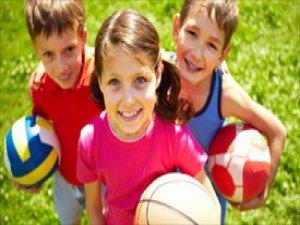 Her 10 çocuktan 2'si düzenli spor yapıyor
