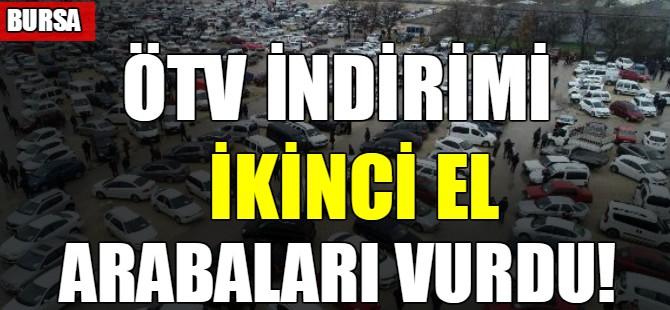 ÖTV indirimi ikinci el arabaları vurdu!