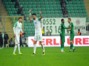 Bursaspor'a gol yolunda engel
