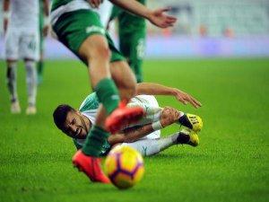 Bursaspor talihsiz bir sezon geçiriyor