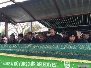 Bursa'da son yolculuğuna uğurlandı!