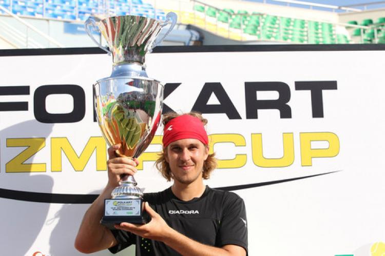 İzmir'de şampiyon Lukas Lacko