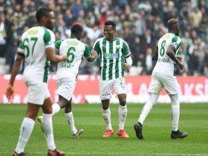 Bursaspor'un gol yükü onlarda!