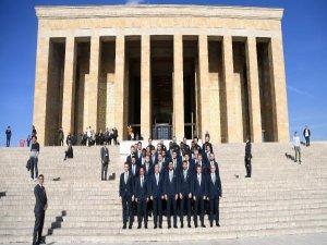 Bursaspor Anıtkabir'de