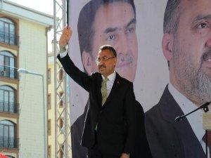 Cumhurbaşkanı Yardımcısı Fuat Oktay Bursa'da