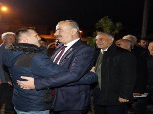 Başkan Türkyılmaz'a horonlu uğurlama
