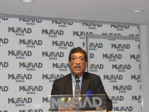 MÜSİAD Hindistan Büyükelçisini ağırladı