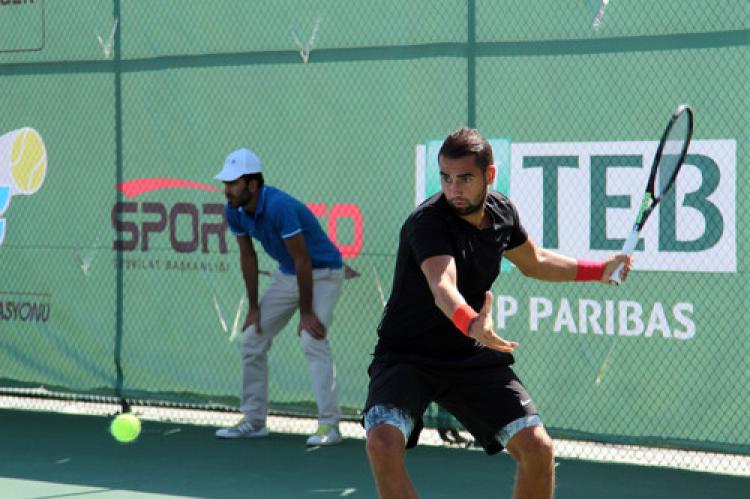 Ağrı, uluslararası tenis turnuvasına ev sahipliği yapıyor
