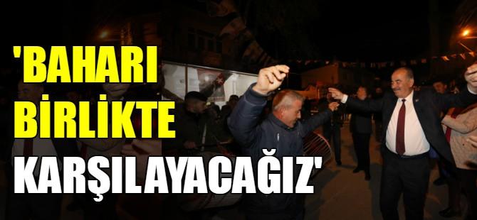 Türkyılmaz'a davullu zurnalı karşılama