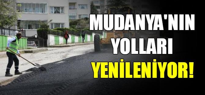 Mudanya'nın yolları yenileniyor