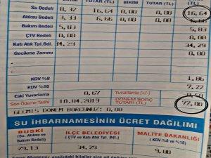 Bursa'da su faturaları el yakıyor