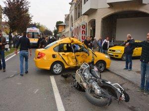 Taksi şoförü ağır kusurlu bulundu