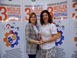 Bursa'da ödüller sahiplerini buldu