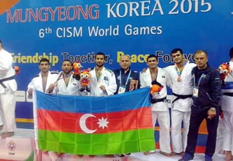 6. Dünya Askeri Oyunları'nda Azerbaycan takımı dünya üçüncüsü oldu