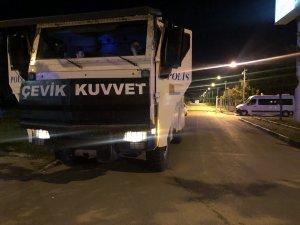 Bursaspor taraftarları Özlüce'de