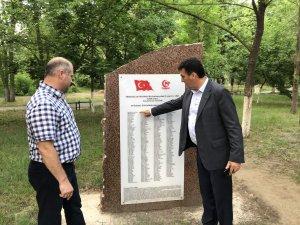Gagavuzya'da 15 Temmuz anıtı