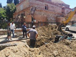 Mudanya'da alt yapı çalışmaları