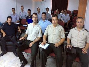 Bursa'da askerî personele iş güvenliği eğitimi