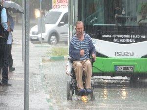 Bursa'da insanlıktan utandıran görüntü!