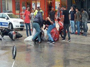 Bursa'da onu gören yardımına koştu!