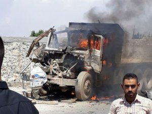 Suriye'de bombalı araçla saldırı