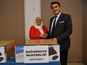 Bursa'da muhtarlara teknolojik destek