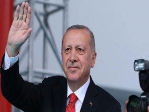 Erdoğan'dan Barış ve Özgürlük Bayramı mesajı