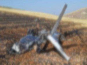 Almanya'da uçak düştü! Ölüler var