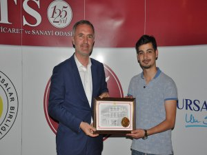 Bursa'da vergi rekortmenleri ödüllendirildi