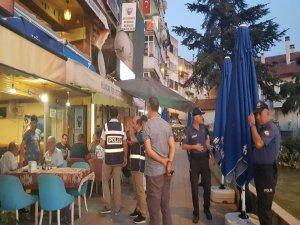 Bursa'da polisler iş başında